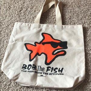 Handbags - NWOT Bob the Fish tote bag